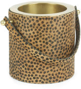 One Kings Lane 9 Leopard-Print Wine Cooler, Gold
