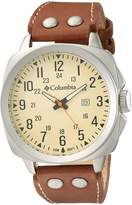 Columbia Men's CA018-220 Cornerstone Analog Display Quartz Brown Watch