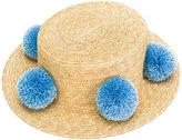 Eshvi - Eshvi for 711 Jupiter hat - women - Straw - M