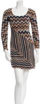 M Missoni Wool Patterned Dress