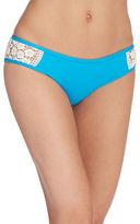 Lucky Brand Crochet Detail Hipster Bikini Bottom