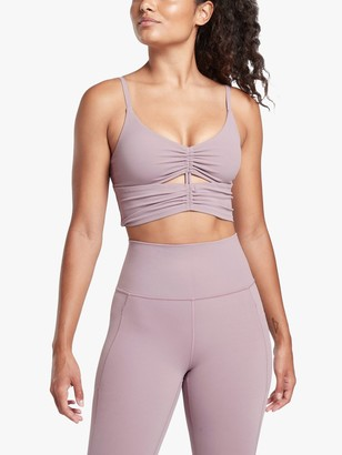 Athleta Race Cinch A-C Cup Longline Bra