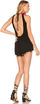 Majorelle Pier Romper in Black. - size S (also in XS)