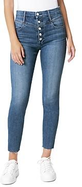 Joe's Jeans The Hi Honey Crop Skinny Jeans in High Hopes