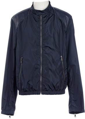 Prada Navy Synthetic Jackets