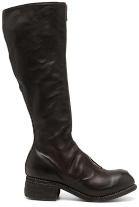 Guidi Zip-Fastening Leather Boots