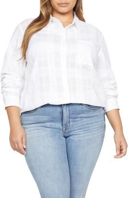 Sanctuary Keepers Boyfriend Button-Up Shirt