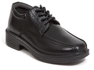Deer Stags Toddler, Little, and Big Boys Williamsburg Jr Classic Dress Comfort Runoff Toe Oxford