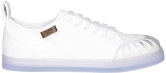 Fendi Panelled Low-Top Sneakers