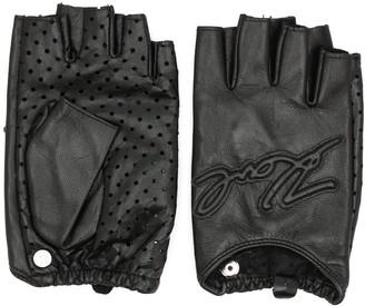 Karl Lagerfeld Paris K fingerless gloves