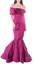 Zac Posen Raspberry Flawless Gown