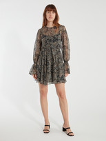 Joie Manning Long Sleeve Paisley Dress