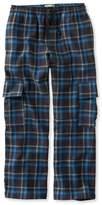 L.L. Bean Boys' Flannel Cargo Pants