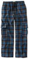 L.L. Bean L.L.Bean Boys' Flannel Cargo Pants