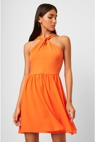Thumbnail for your product : French Connenction Panthea Jersey Halter Mini Dress