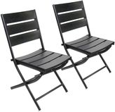 Bed Bath & Beyond Canyon Dining Chairs in Black (Set of 2)