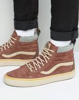 Vans Sk8-Hi Mte Dx Sneakers In Brown Va3498lqv