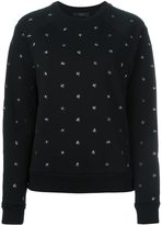 Diesel star stud sweatshirt - women - Cotton - L