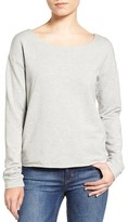 Splendid Women's Varsity Cross Back Knit Top