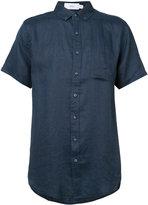 Onia Jack shirt - men - Linen/Flax - S