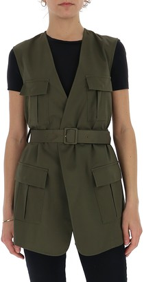 L'Autre Chose Belted Military Jacket