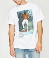 Mitchell & Ness Nba Draft Day Larry Johnson T-shirt White