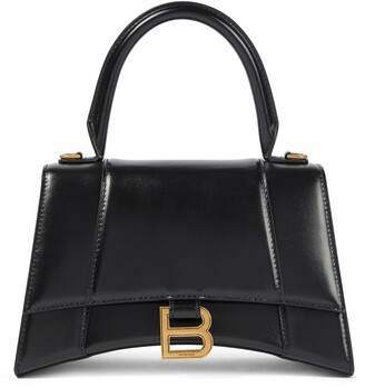 Balenciaga Hourglass S leather tote