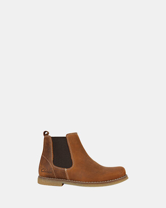 Clarks Brown Boots - Chelsea - Size One Size, 34 at The Iconic