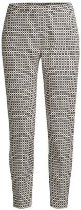 Elie Tahari Printed Marcia Pants