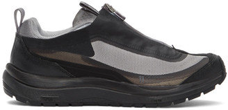 11 By Boris Bidjan Saberi Grey Salomon Edition Bamba 2 Low Sneakers