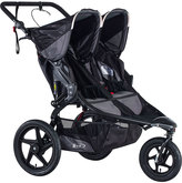 BOB Strollers Black Two-Seat Revolution Pro Duallie Stroller