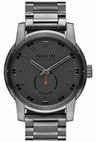 Nixon Men's 'Patriot' Round Bracelet Watch, 45Mm
