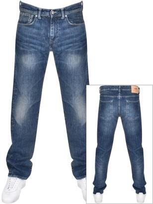 Edwin ED80 Slim Tapered Jeans Blue