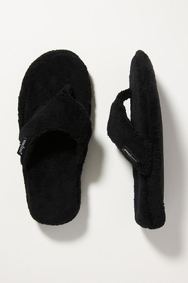 Minnetonka Olivia Slippers By in Black Size S