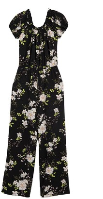 Love...Ady Floral Off the Shoulder Jumpsuit