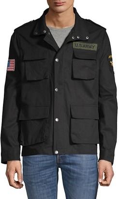 American Stitch Cotton Military Jacket