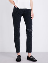 Rag & Bone Marilyn straight high-rise jeans