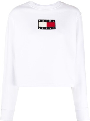 Tommy Hilfiger Flag-Patch Sweatshirt