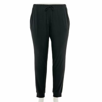 Mudd Juniors' Plus Size Peached Jogger Pants