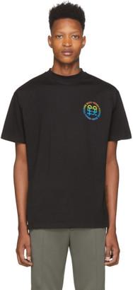 Honey Fucking Dijon Black Rainbow Logo T-Shirt