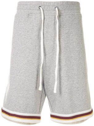 James Perse Double Knit Track Shorts