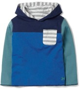 Boy's Mini Boden Reversible Hooded T-Shirt
