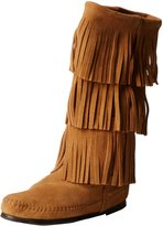 Minnetonka Women's Minnetonka, 3 Layer Fringe Boot