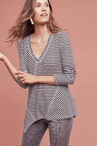 Anthropologie Directional V-Neck Tee