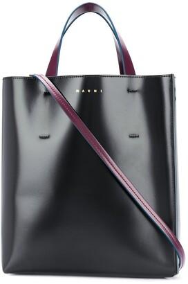 Marni Museo colour-block tote bag