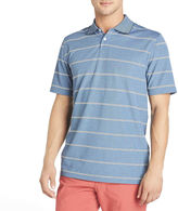 Arrow Short-Sleeve Striped Oxford Piqu Polo