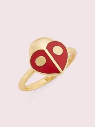 Kate Spade Animal Party Ladybug Ring