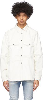 Diesel Off-White D-Kurtis Shirt