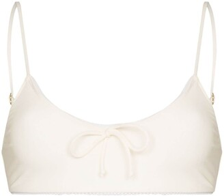 Juillet Laura lace trim bikini top