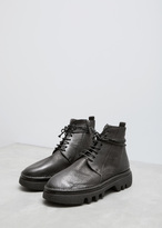 Marsèll Nero Lace-up Boot